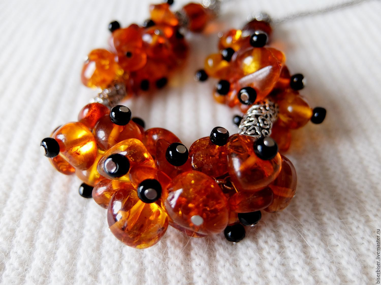 Amber necklace, Necklace, Moscow,  Фото №1
