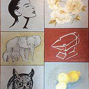"""Картины ручной работы. Ярмарка Мастеров - ручная работа Картина """"Реальность"""". Handmade."""