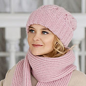 Аксессуары handmade. Livemaster - original item Mohair hat