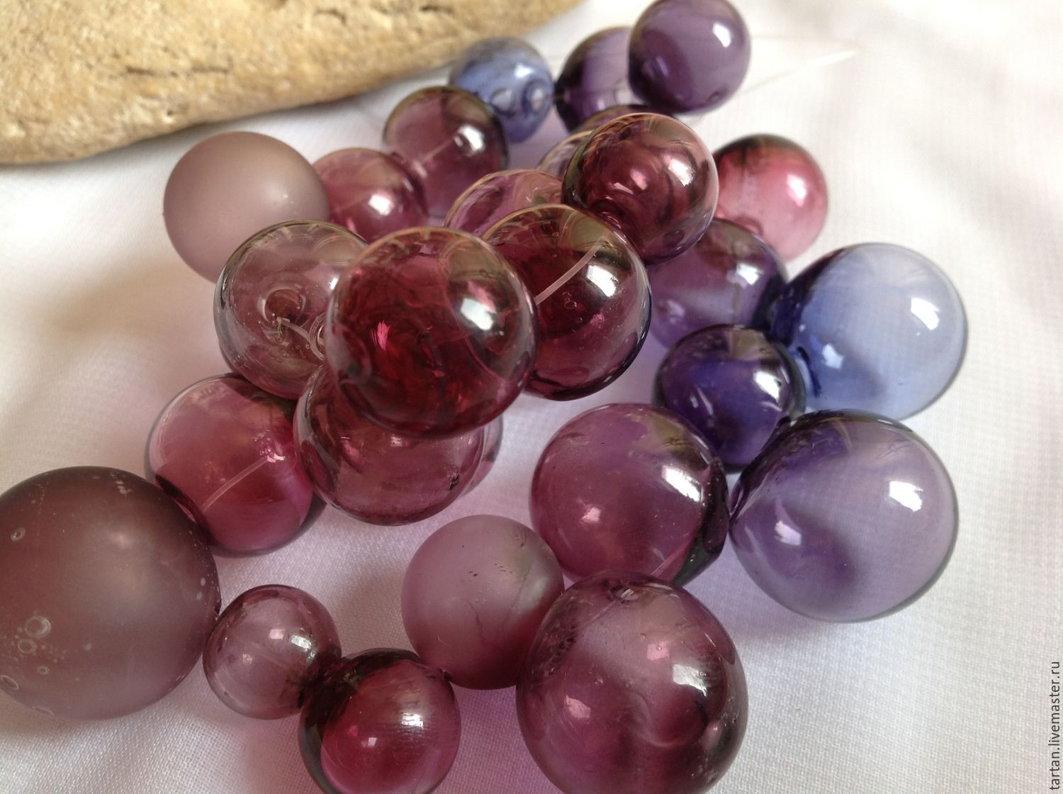 Beads blown Murano glass Blowing lampwork beads to Buy beads can be any color and size
