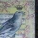 """Шкатулки ручной работы. Заказать Шкатулка """"Vintage birds"""". Интерьерный уголок (Анна и Дмитрий). Ярмарка Мастеров. Короб, птицы"""