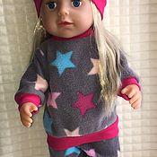 Одежда для кукол ручной работы. Ярмарка Мастеров - ручная работа Одежда для Беби бон- костюм. Handmade.