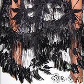 Одежда handmade. Livemaster - original item Avant-garde knit dress from the new collection