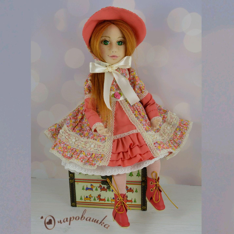 Интерьерная шарнирная текстильная кукла, Интерьерная кукла, Чита,  Фото №1