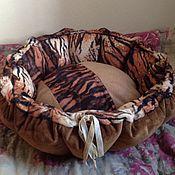 Для домашних животных, ручной работы. Ярмарка Мастеров - ручная работа мягкая котокорзиночка. Handmade.