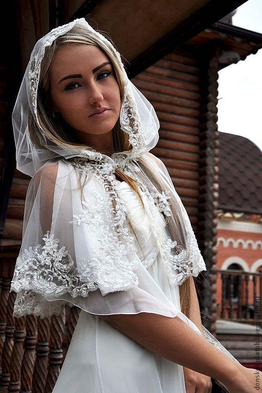 Платок для венчания своими руками