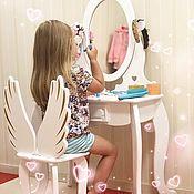 Столы ручной работы. Ярмарка Мастеров - ручная работа Детский туалетный столик. Handmade.
