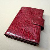 Сумки и аксессуары handmade. Livemaster - original item Purse-clutch triple from the Italian genuine semi-patent leather.. Handmade.