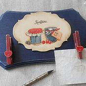 Для дома и интерьера ручной работы. Ярмарка Мастеров - ручная работа Панно для записей. Handmade.