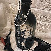 Для дома и интерьера ручной работы. Ярмарка Мастеров - ручная работа Керамический подсвечник/ваза, благотворительный лот. Handmade.