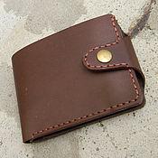 Сумки и аксессуары handmade. Livemaster - original item Men`s wallet,genuine leather.. Handmade.
