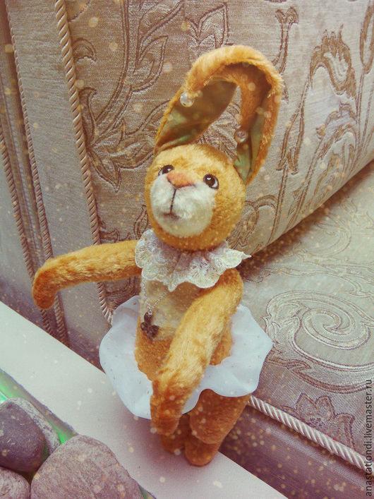 Мишки Тедди ручной работы. Тедди Кролик Первая Бабочка. Анастасия Димитриева. Ярмарка Мастеров. Крольчиха, тедди игрушка