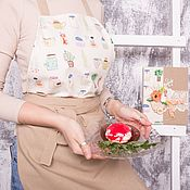 Фартуки ручной работы. Ярмарка Мастеров - ручная работа Фартук женский и кулинарная книга. Handmade.