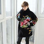 Одежда handmade. Livemaster - original item Sweater with roses. Handmade.