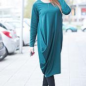 Одежда handmade. Livemaster - original item Dress. dress with sleeve. festive dress. Dress.. Handmade.