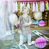 Работы для детей, ручной работы. Ярмарка Мастеров - ручная работа Платье с паетками для девочки. Handmade.