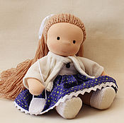 Куклы и игрушки handmade. Livemaster - original item Doll Faith, 31 cm. Handmade.
