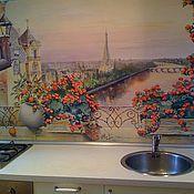 Картины и панно handmade. Livemaster - original item WINDOW TO PARIS    painting. Handmade.
