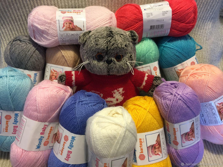 Пряжа Kartopu Woolly Baby (Картопу Вулли Бэби), Пряжа, Москва,  Фото №1