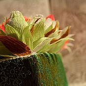 """Цветы и флористика ручной работы. Ярмарка Мастеров - ручная работа """"Капелька в сердце"""" букет из конфет. Handmade."""