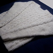 Одежда handmade. Livemaster - original item Women`s knitted sweater Baked milk. Handmade.