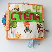 Куклы и игрушки ручной работы. Ярмарка Мастеров - ручная работа Развивающая книжка. Handmade.