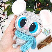 Сувениры и подарки handmade. Livemaster - original item Mouse lipstik. Symbol 2020.. Handmade.