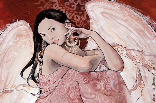 """Открытки на все случаи жизни ручной работы. Ярмарка Мастеров - ручная работа. Купить открытка """"невеста"""". Handmade. Кремовый, светлый, азиатка"""
