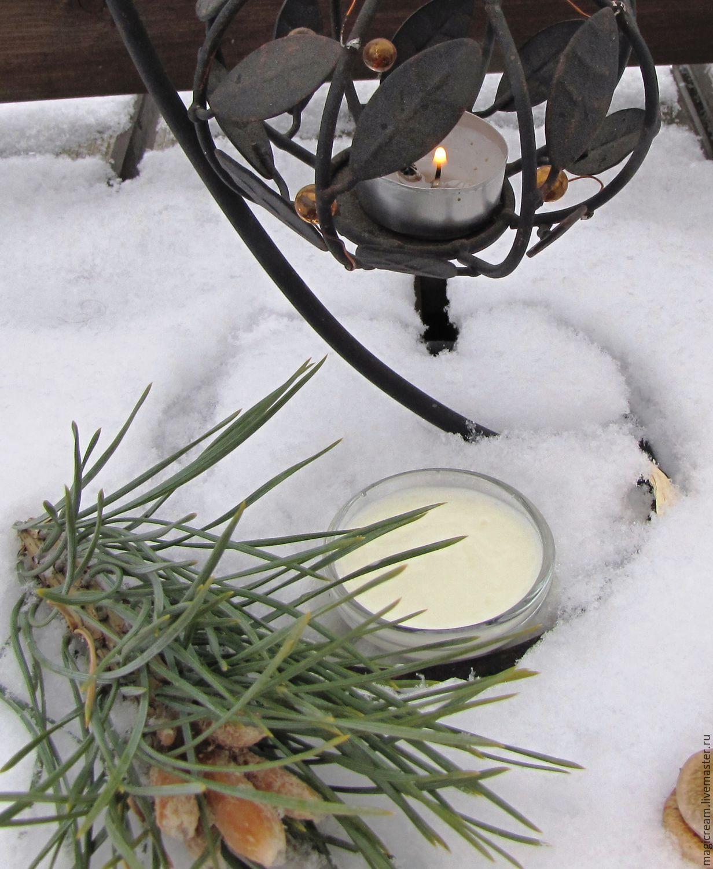 ручной работы. Ярмарка Мастеров - ручная работа. Купить Крем для лица Защита от мороза. Handmade. Бежевый, крем для лица, купероз