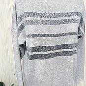 Пуловеры ручной работы. Ярмарка Мастеров - ручная работа Пуловер «Cristallo» , оверсайз. Handmade.