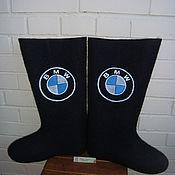 """Обувь ручной работы. Ярмарка Мастеров - ручная работа Валенки """"BMW-2"""" (мужской подарок, подарок мужчине). Handmade."""
