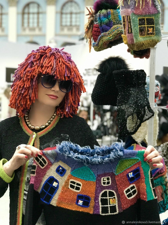Шапка-парик «КАРЕ» с переходом цвета, Шапки, Москва,  Фото №1