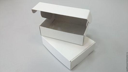 Упаковка ручной работы. Ярмарка Мастеров - ручная работа. Купить маленькая картонная самосборная коробка с ушками. Handmade. Коробка для декорирования
