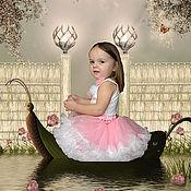 """Работы для детей, ручной работы. Ярмарка Мастеров - ручная работа Юбка американка """"Розовое облако"""". Handmade."""
