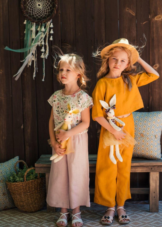 Льняной комплект « Кукуруза», Комплекты одежды для малышей, Орск,  Фото №1
