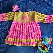 """Работы для детей, ручной работы. Ярмарка Мастеров - ручная работа платье""""Розочка"""".. Handmade."""