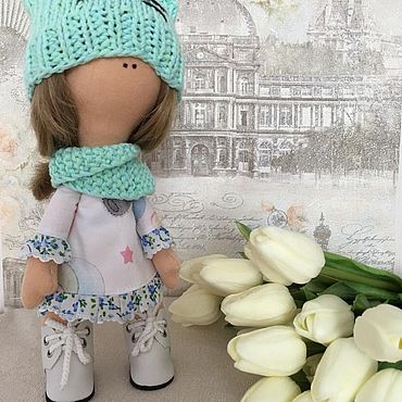 Куклы и игрушки ручной работы. Ярмарка Мастеров - ручная работа Кукла ручной работы Милашка. Handmade.