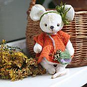 Куклы и игрушки handmade. Livemaster - original item Mouse Morkovkin. Handmade.