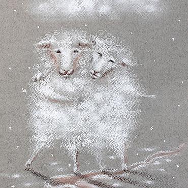 Картины и панно ручной работы. Ярмарка Мастеров - ручная работа Сотканы из тумана. Handmade.