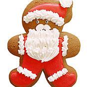 Сувениры и подарки ручной работы. Ярмарка Мастеров - ручная работа Человечек Санта. Handmade.