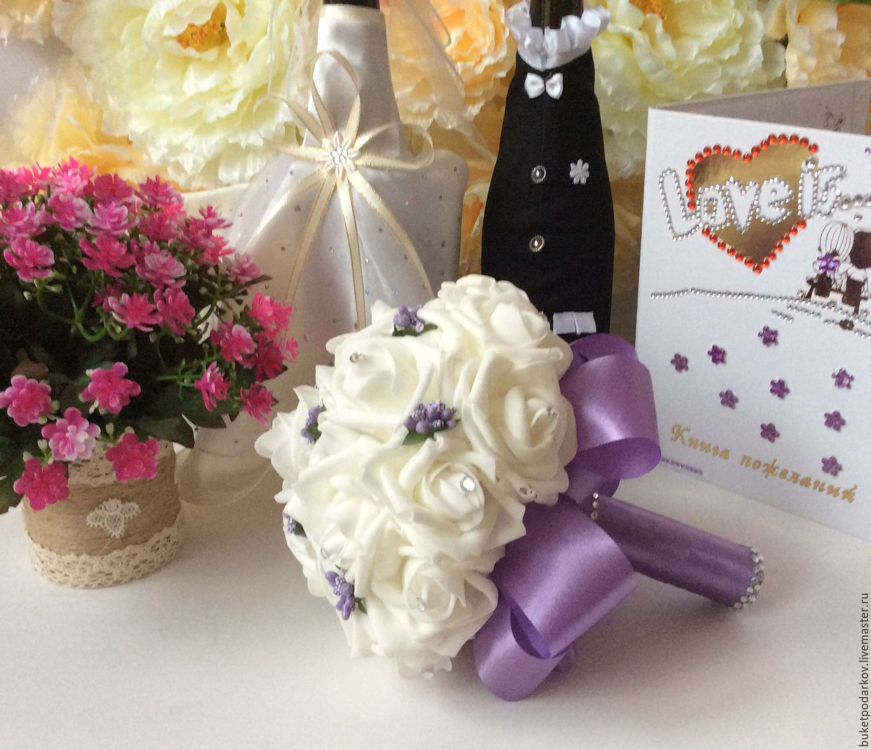 Букет-дублер для невесты мастер класс