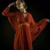 Одежда ручной работы. Ярмарка Мастеров - ручная работа Платье RosenRed. Handmade.