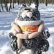Игрушки животные, ручной работы. кот Максимилиан (крупная игрушка) вязание. Светлана Ульянова (Logoped1). Интернет-магазин Ярмарка Мастеров.