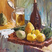 Картины и панно ручной работы. Ярмарка Мастеров - ручная работа Тыквы и пиво. Handmade.