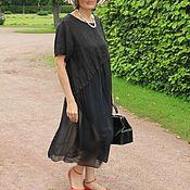 Одежда ручной работы. Ярмарка Мастеров - ручная работа Платье шелковое Мадам. Handmade.