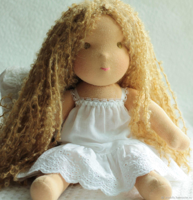 Копия работы Вальдорфские куклы- голышки 34 см, Игрушки, Тула, Фото №1