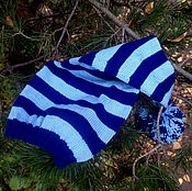 Работы для детей, ручной работы. Ярмарка Мастеров - ручная работа Колпачок для фотосессии (сине-голубой). Handmade.