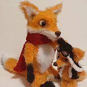 Stuffed Toys handmade. Livemaster - original item Fox wire frame splinters limbs. Handmade.