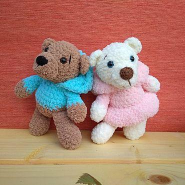 Куклы и игрушки ручной работы. Ярмарка Мастеров - ручная работа Мягкие игрушки: Мишки малышки. Handmade.