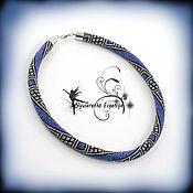"""Necklace handmade. Livemaster - original item Жгут из бисера колье """"Флоренс"""". Handmade."""